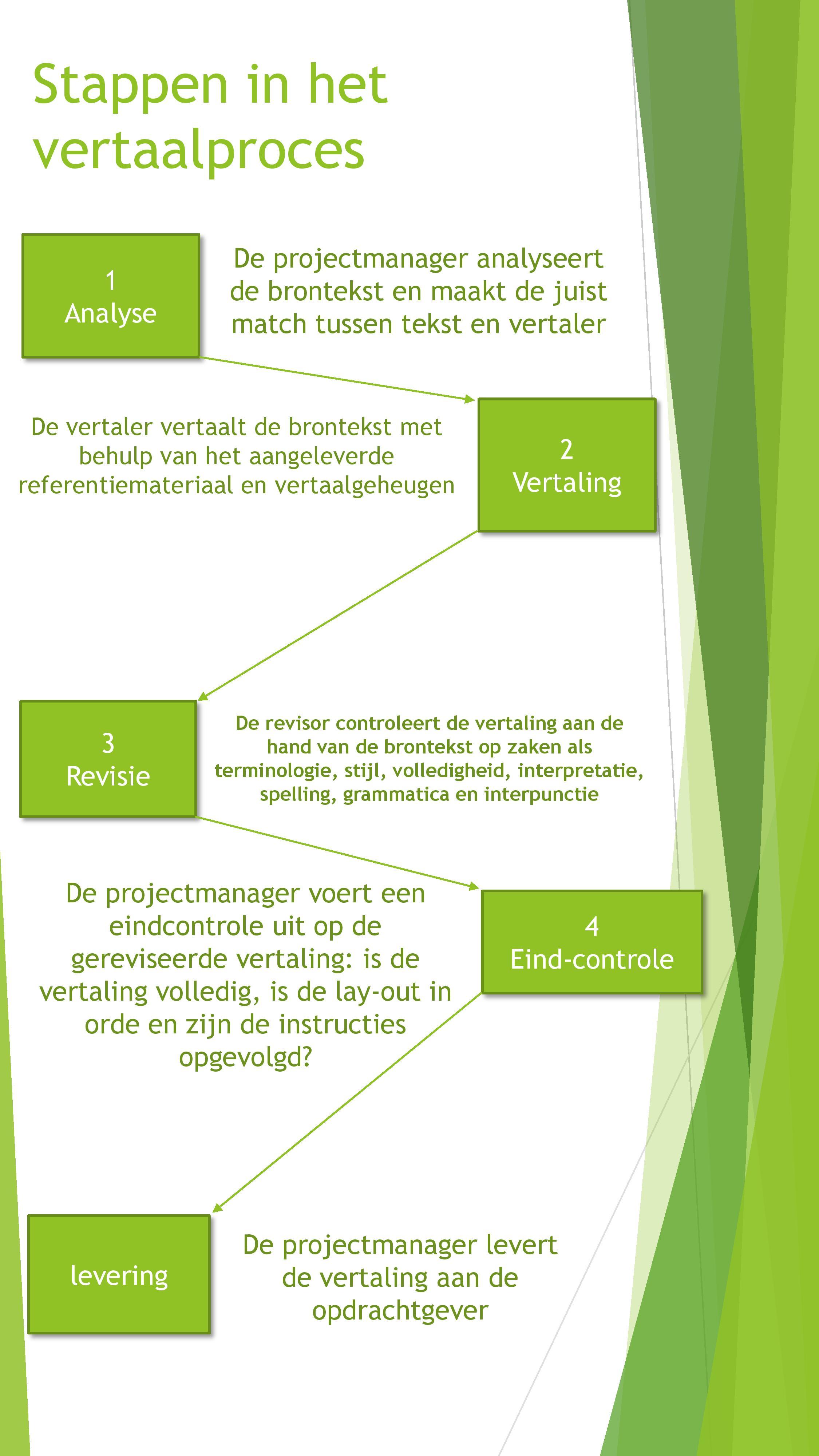 Infographic vertaalproces